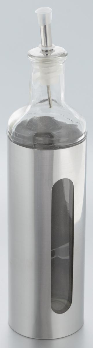Емкость для масла и уксуса Zeller, 500 мл. 1994919949Емкость для масла или уксуса Zeller, выполненная из стекла, позволит украсить любую кухню. Она внесет разнообразие как в строгий классический стиль, так и в современный кухонный интерьер. Легка в использовании, стоит только перевернуть, и вы с легкостью сможете добавить оливковое масло или уксус. Оригинальная емкость будет отлично смотреться на вашей кухне. Диаметр по верхнему краю: 3,2 см. Высота емкости (с учетом крышки): 28,5 см.
