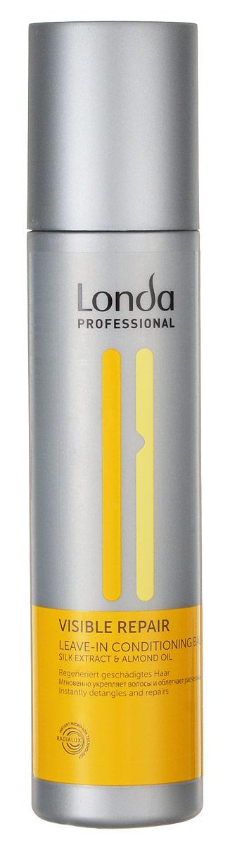Бальзам-кондиционер Londa Visible Repair, для поврежденных волос, 250 мл0990-81191519Бальзам-кондиционер Londa Visible Repair - легкая эксклюзивная салонная формула питает и восстанавливает поврежденные волосы. Предотвращает статический эффект, делая волосы шелковистыми и сильными. Обеспечивает легкость расчесывания. Применение : нанести на влажные волосы. Не смывать.