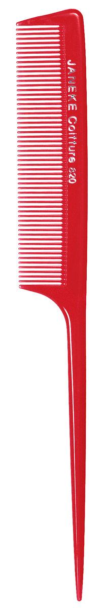 Janeke Расческа для волос, цвет: красный. 59820 ASS