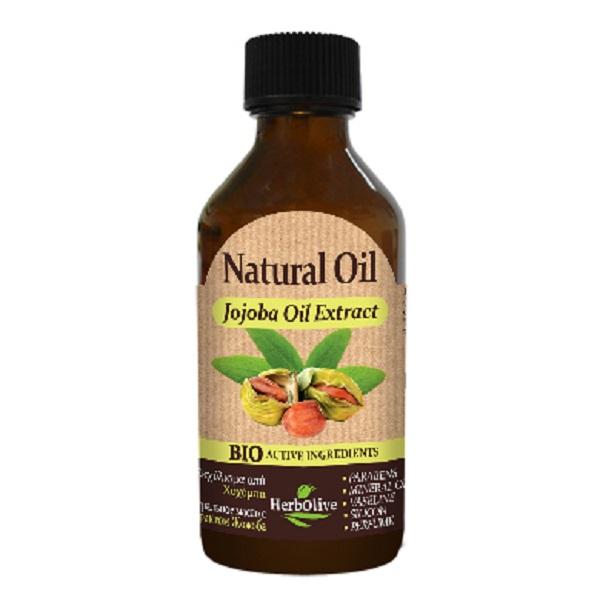 HerbOlive Натуральное масло с экстрактом жожоба 100 мл5200310405150Масло жожоба - богатый источник минералов и витаминов, компоненты, необходимые для питания, защиты и тонизирования кожи. Идеально подходит, как для жирной, так и для сухой кожи. Благодаря высокому содержанию витамина Е, масло жожоба обладает противовоспалительным, регенерирующим, нормализующим, антиоксидантным свойствами. Косметика произведена в Греции на основе органического сырья, НЕ СОДЕРЖИТ минеральные масла, вазелин, пропиленгликоль, парабены, генетически модифицированные продукты (ГМО)