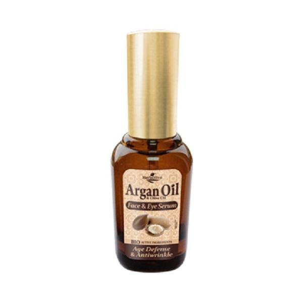 ArganOil Сыворотка для лица и кожи вокруг глаз антивозрастная против морщин 30 мл5200310405266Сыворотка с легкой консистенцией, прекрасно впитывается, идеальна для всех типов кожи. Рекомендуется с 25 лет. Активные ингредиенты: масло оливы, арганы увлажняет, питает, наполняет кожу витаминами. Экстракт граната - мощный антиоксидант, призван предотвращать появление морщин. Витаминизирует, содержит микроэлементы, придает коже эластичность, сужает поры и себорегулирует, восстанавливает липидный барьер кожи, убирает шелушения и раздражения. Алоэ, розмарин, морская спаржа –не дает коже пересыхать, дизенфицирует, выравнивает тон кожи. Косметика произведена в Греции на основе органического сырья, НЕ СОДЕРЖИТ минеральные масла, вазелин, пропиленгликоль, парабены, генетически модифицированные продукты (ГМО)