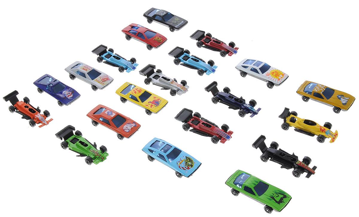 Shantou Набор машинок City Racer 20 штB1385630Набор машинок Shantou City Racer понравится любому мальчику. В набор входят 20 спортивных и гоночных автомобилей. Каждая машинка имеет индивидуальную форму и раскраску. Машинки изготовлены из качественных и безопасных материалов. Имея такой автопарк, можно устраивать соревнования и гонки с друзьями. Благодаря разнообразию моделей и цветов скучать будет некогда.