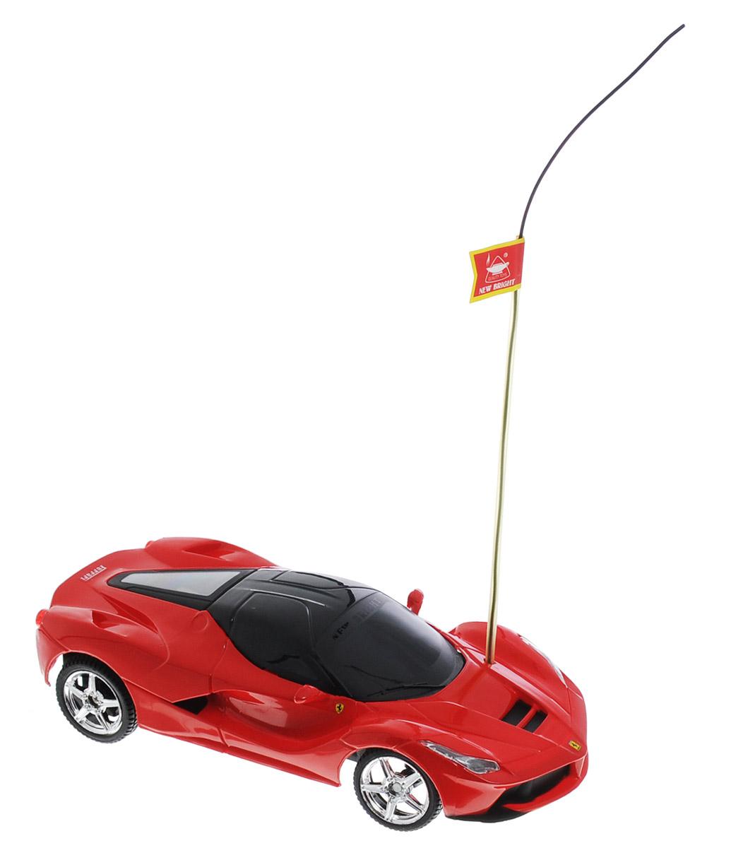 New Bright Радиоуправляемая модель La Ferrari масштаб 1:242423LРадиоуправляемая модель New Bright La Ferrari станет отличным подарком любому мальчику! Это точная копия настоящего автомобиля в масштабе 1:24. Управление игрушкой происходит при помощи удобного пульта. Пульт управления работает на частоте 27 MHz, а радиус его действия составляет 25-30 метров. Возможные движения: вперед-назад, поворот вправо-влево. Радиоуправляемые игрушки способствуют развитию координации движений, моторики и ловкости. Ваш ребенок часами будет играть с моделью, придумывая различные истории и устраивая соревнования. Порадуйте его таким замечательным подарком. Для работы машины необходимы 3 батарейки напряжением 1,5V типа АА (не входят в комплект). Для работы пульта управления необходимы 2 батарейки напряжением 1,5V типа АА (не входят в комплект).