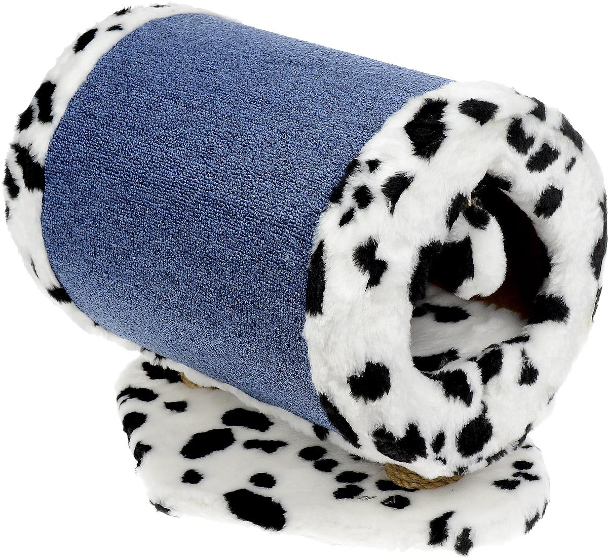 Домик-когтеточка ЗооМарк Пики, 46 х 35 х 36 см119Домик-когтеточка для кошек ЗооМарк Пики выполнен из дерева, искусственного меха и ковролина. Вход в домик выполнен в виде карточной масти. Оригинальная когтеточка в виде домика - отличное место, чтобы спрятаться. Также там можно хранить свои охотничьи трофеи. Домик оснащен подвесной игрушкой.
