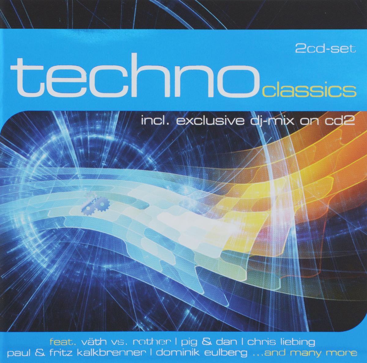 Techno Classics (2 CD) 2010 2 Audio CD