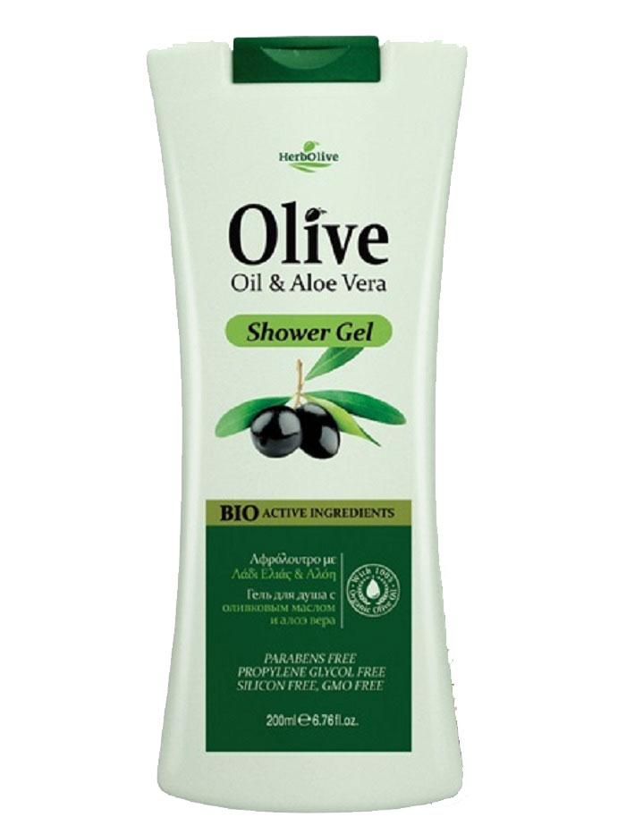 HerbOlive Гель для душа с алоэ-вера 200 мл5200310400865Оживляет и увлажняет кожу, предлагая уникальный органический экстракт алоэ-вера в сочетании с оливковым маслом, идеален для поддержания влажности в течение всего дня. Косметика произведена в Греции на основе органического сырья, НЕ СОДЕРЖИТ минеральные масла, вазелин, пропиленгликоль, парабены, генетически модифицированные продукты (ГМО)