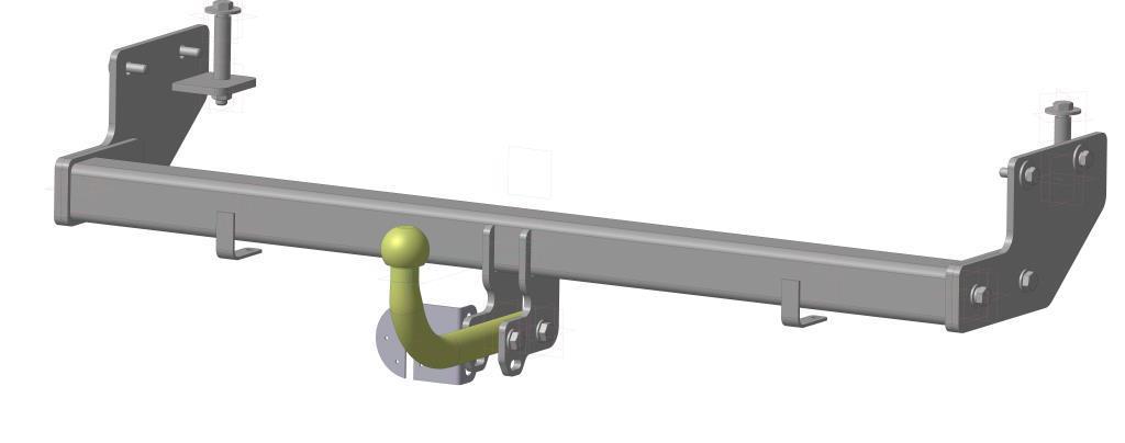Фаркоп Bosal для Hyundai Elantra IV 2007-2012, горизонтальная/вертикальная нагрузка на шар 1100/50 (вырез в бампере), 4242-A4242-AТип шара А – съемный на двух болтах шар, грузоподъемность 1500 кг.