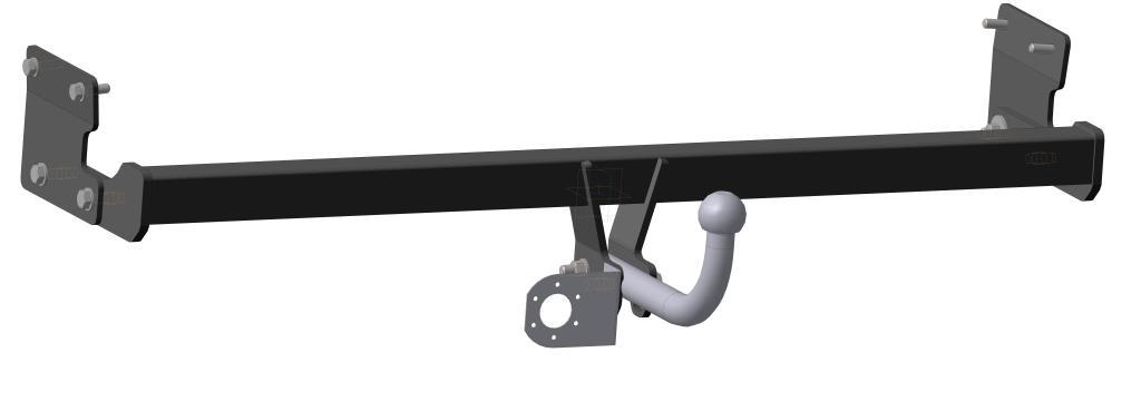 Фаркоп Bosal для Kia Soul MPV 2014->..., горизонтальная/вертикальная нагрузка на шар 1100/75 (без электрики), 6754-A6754-AТип шара А – съемный на двух болтах шар, грузоподъемность 1500 кг.