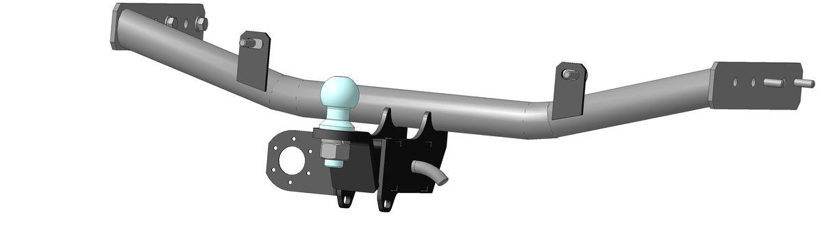 Фаркоп Bosal для ВАЗ (Lada) Granta, Kalina (1117-2194) 2005->..., горизонтальная/вертикальная нагрузка на шар 1100/50 (без электрики), 1229-E1229-EТип шара Е- съемный, на гайке, грузоподъемностью 1500 кг