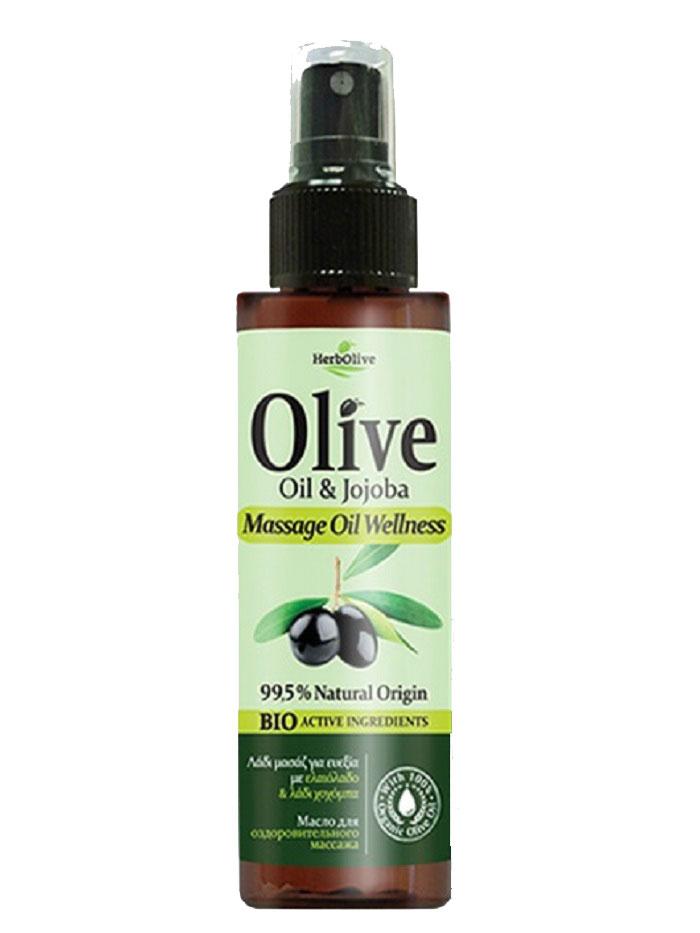 HerbOlive Масло для массажа тонизирующее 150 мл5200310401015В составе масло оливы, жожоба и экстракт алоэ. Приятно расслабляет тело и разум. Побалуйте себя приятным массажем с маслом Herbolive и ощутите вашу кожу гладкой и мягкой. Косметика произведена в Греции на основе органического сырья, НЕ СОДЕРЖИТ минеральные масла, вазелин, пропиленгликоль, парабены, генетически модифицированные продукты (ГМО)