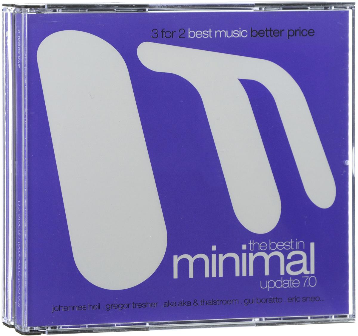 The Best In Minimal Update 7.0 (3 CD) 2012 3 Audio CD