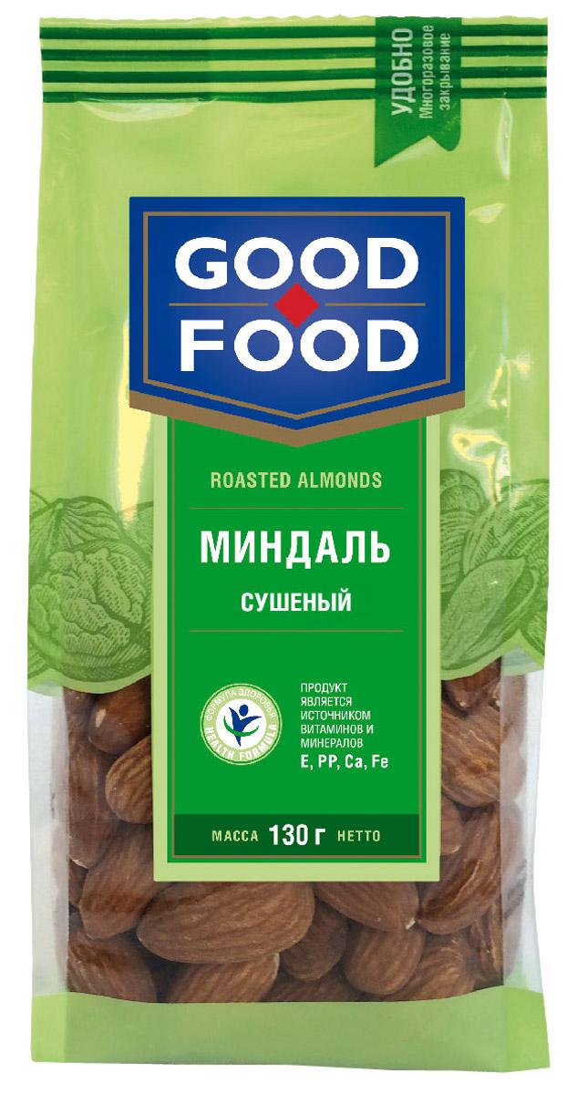 Good Food миндаль сушеный, 130 г