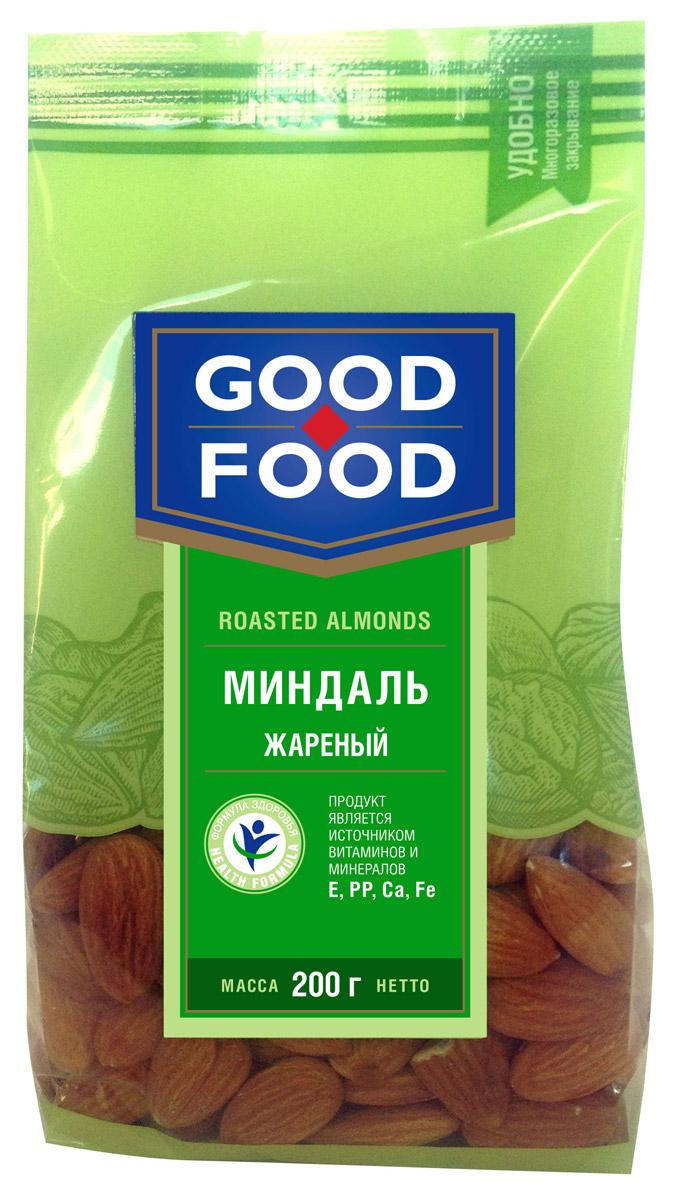 Good Food миндаль жареный, 200 г