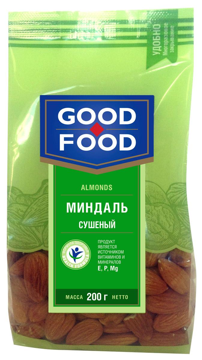 Good Food миндаль сушеный, 200 г
