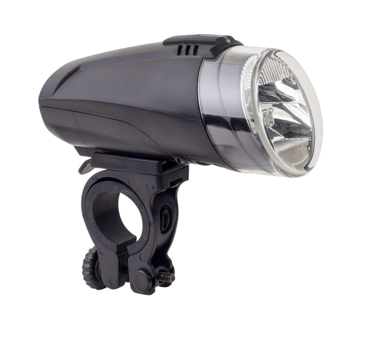 Фонарь велосипедный светодиодный передний Idol ET-3140-2ET-3140-2Велосипедный передний фонарь Idol ET-3140-2 одна из новых разработок компании. В модели специальная линза особой формы. Оптическая система фонаря построена таким образом, что свет от фары не слепит, пучок света максимально направлен вниз для лучшего освещения. Фонарик построен на базе современного светодиода Cree XPE R3 мощностью 3W. В вело фаре реализовано два режима яркости, переключающихся кнопкой на корпусе фонаря: максимальная (103 люмена) и минимальная (56 люменов). Также есть режим стробоскопа (55 люменов). Фонарь крепится на руле с возможностью мгновенно отсоединить его, когда нет желания оставлять на велосипеде без присмотра или под дождем. Благодаря противоударному корпусу, падения не страшны. Также велосипедный фонарь имеет отличную водо- и пыле защиту. Питание модели производится от стандартных батареек класса АА. На корпусе фонаря есть индикатор оставшегося заряда. Технология лампы: LED Cree XPE R3 3W Время работы: ...