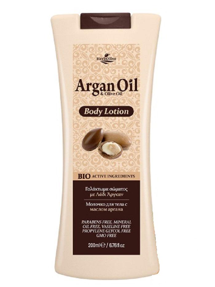 ArganOil Молочко для тела 200 мл5200310402852Содержит органическое оливковое масло, подсолнечное масло, глицерин, натуральные компоненты богатые витаминами и минералами. Обеспечивает глубокое увлажнение и питание, антивозрастное, успокаивающее действие. Обладает омолаживающим эффектом, придает коже здоровый вид и свежесть. Косметика произведена в Греции на основе органического сырья, НЕ СОДЕРЖИТ минеральные масла, вазелин, пропиленгликоль, парабены, генетически модифицированные продукты (ГМО)