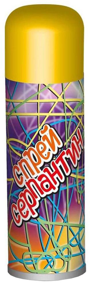 B&H Карнавальный спрей Серпантин BH0908 цвет желтыйBH0908_желтыйНу какой же Новый год без серпантина? Спрей-серпантин распыляется с расстояния не менее 1,5 м. Серпантин падает длинными разноцветными нитями. Легко смывается водой. Цвет: синий, зеленый, красный, желтый, фиолетовый, розовый. Цвет колпачка указывает на цвет спрея. Объем баллона - 250 мл.