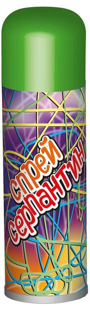 B&H Карнавальный спрей Серпантин цвет зеленыйBH0908_зеленыйКарнавальный спрей B&H Серпантин отлично подойдет для любого праздника. Спрей-серпантин падает длинными разноцветными нитями и распыляется с расстояния не менее 1,5 м. Легко смывается водой. Объем баллона: 250 мл.