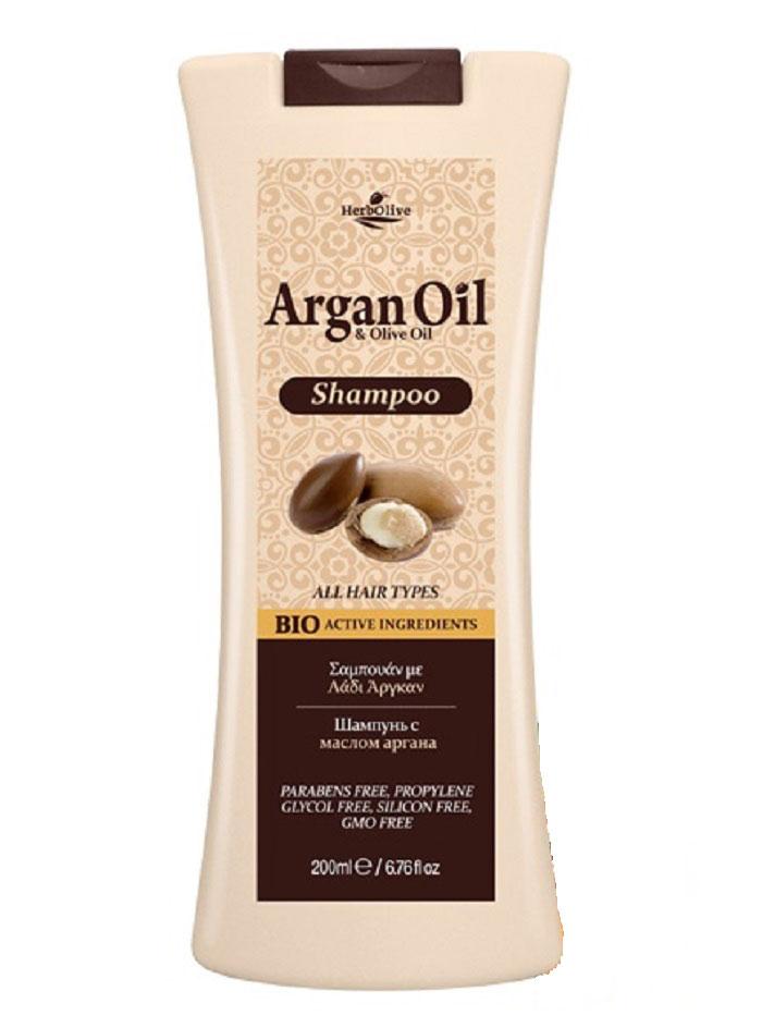 ArganOil Шампунь с маслом арганы для всех типов волос 200 мл5200310402883Содержит органическое оливковое масло, масло арганы, витамины А и Е, пантенол, известные своими антиоксидантными свойствами, а также способностью к увлажнению и восстановлению волос. Все вместе создает уникальное сочетание компонентов, которые помогают защитить волосы, оживить цвет и блеск и придать им здоровый вид