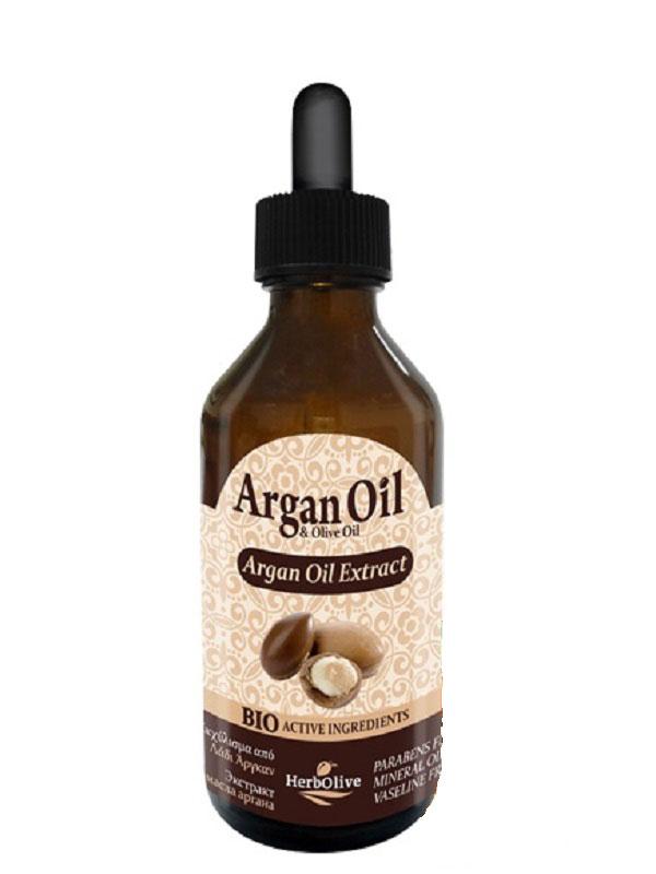 ArganOil Экстракт масла арганы 100 мл5200310402906В сочетании с органическим оливковым маслом, подсолнечным маслом и витамином E прекрасно увляжняет, омолаживает, помогает коже поддерживать эластичность и здоровый вид. Бережно снимает раздражение. Эффективно питает и восстанавливает уставшие волосы, придает им сияющий блеск. Косметика произведена в Греции на основе органического сырья, НЕ СОДЕРЖИТ минеральные масла, вазелин, пропиленгликоль, парабены, генетически модифицированные продукты (ГМО)