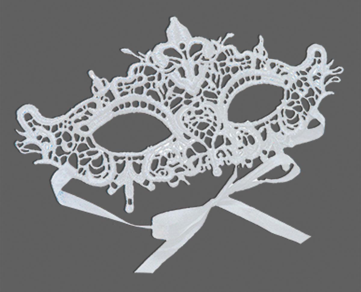 Partymania Карнавальная маска Кружево T1228 цвет 7