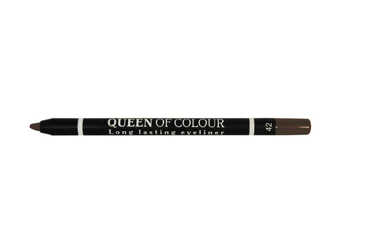 Ninelle Карандаш для глаз Queen Of Colour №42740N10449Высокая концентрация пигментов создает насыщенный цвет, который делает образ более ярким и индивидуальным. Таким карандашом можно выполнить как дневной, так и вечерний макияж. Новая формула с витамином Е способствует идеально мягкому нанесению карандаша на веки. Он прекрасно растушевывается и превосходно держится на веках в течение всего дня. Для создания более глубокого образа не ждите пока карандаш зафиксируется, а сразу приступайте к растушевке его границ.