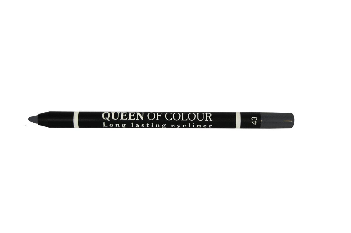 Ninelle Карандаш для глаз Queen Of Colour №43741N10450Высокая концентрация пигментов создает насыщенный цвет, который делает образ более ярким и индивидуальным. Таким карандашом можно выполнить как дневной, так и вечерний макияж. Новая формула с витамином Е способствует идеально мягкому нанесению карандаша на веки. Он прекрасно растушевывается и превосходно держится на веках в течение всего дня. Для создания более глубокого образа не ждите пока карандаш зафиксируется, а сразу приступайте к растушевке его границ.