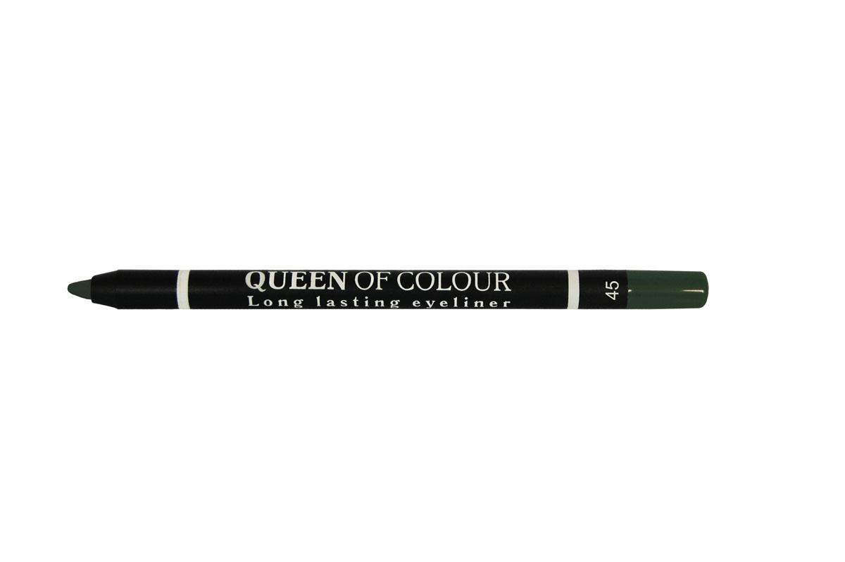 Ninelle Карандаш для глаз Queen Of Colour №45743N10452Высокая концентрация пигментов создает насыщенный цвет, который делает образ более ярким и индивидуальным. Таким карандашом можно выполнить как дневной, так и вечерний макияж. Новая формула с витамином Е способствует идеально мягкому нанесению карандаша на веки. Он прекрасно растушевывается и превосходно держится на веках в течение всего дня. Для создания более глубокого образа не ждите пока карандаш зафиксируется, а сразу приступайте к растушевке его границ.
