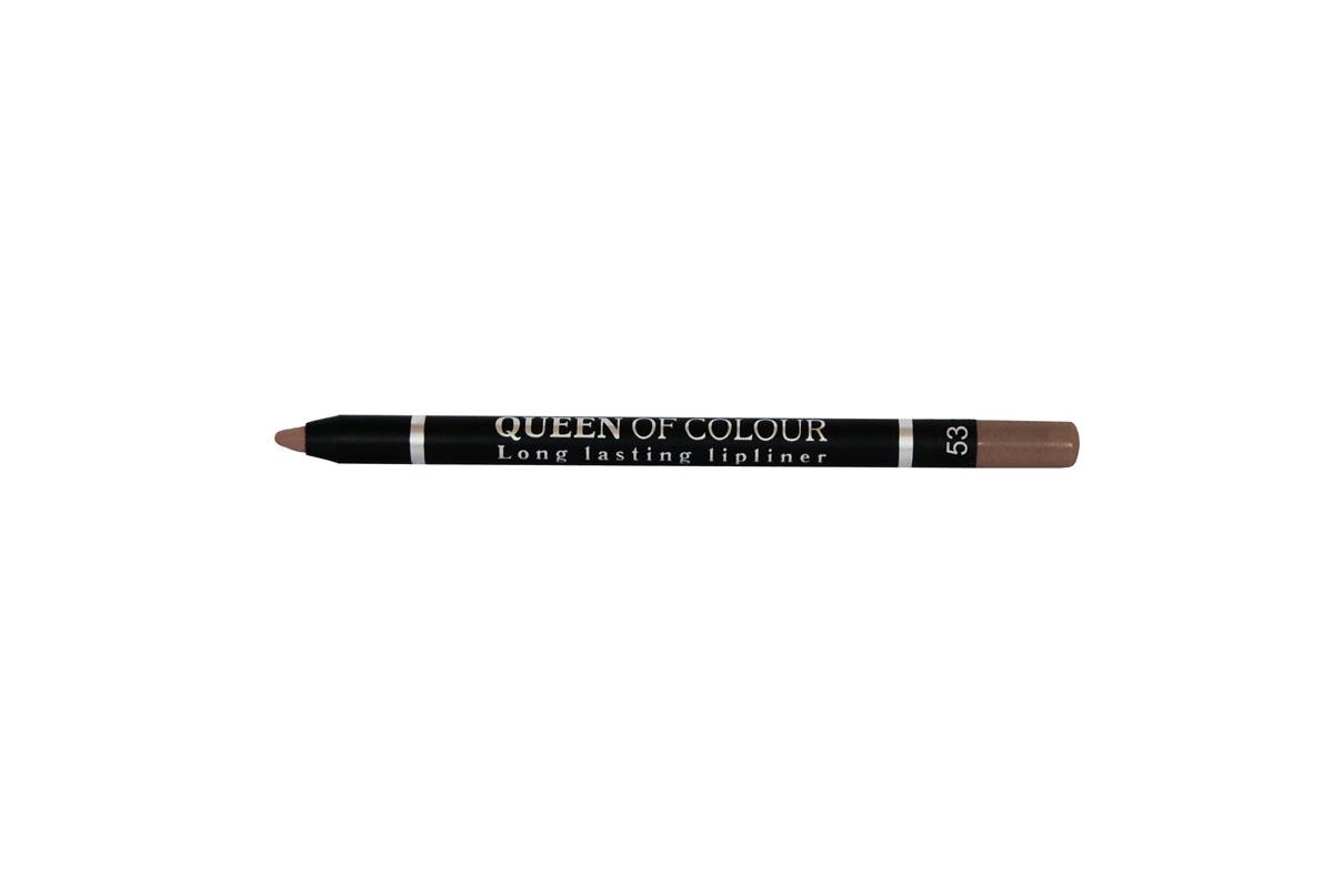 Ninelle Карандаш для губ Queen Of Colour №53746N10455Абсолютно матовая, шелковистая и мягкая текстура изготовлена по принципу губной помады. Поэтому карандаш легко скользит по контуру губ, эффектно его подчеркивает и делает макияж максимально стойким в течение всего дня. Специальные насыщенные цветовые пигменты придают оттенкам роскошные насыщенные цвета, которые остаются на губах неизменными в течение всего дня. Усовершенствованная формула с витамином Е обеспечивает комфортное ощущение на губах и оказывает ухаживающее действие за нежным контуром губ. Карандаш выполнен в пластиковом, легко затачивающемся корпусе.