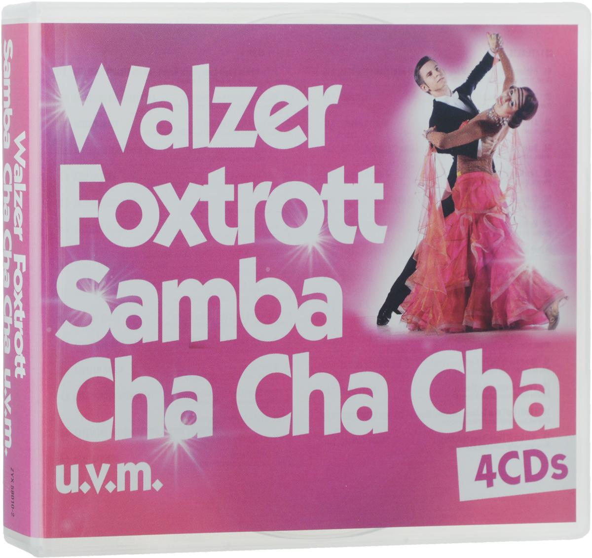 Walzer, Foxtrott, Samba, Cha Cha Cha U. V. M. (4 CD)