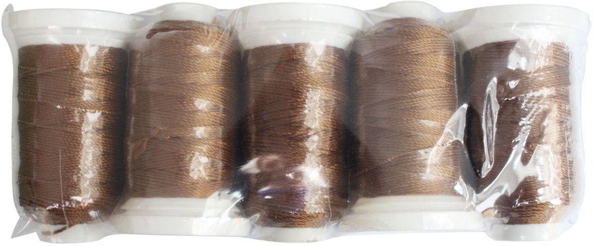 Нить филаментная, 1000D/3, 91,44м, 5 шт, Астра ( 8093 коричневый)7706177_ 8093 коричневыйШвейная нить изготовлена из 100% полиэстера. Предназначена для использования в швейной промышленности: кожгалантерея, обувь, мех, вышивка.