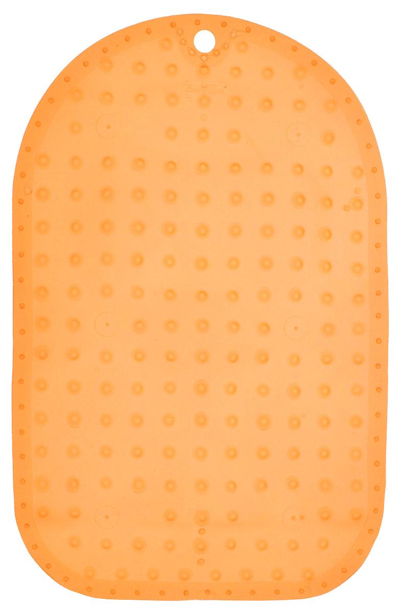 BabyOno Коврик противоскользящий для ванной цвет оранжевый 55 х 35 см1345_оранжевыйКоврик противоскользящий для ванной BabyOno предназначен для детских ванночек, ванн и душевых кабин. Имеет присоски, исключающие перемещение коврика по поверхности. Для правильного закрепления коврика следует сначала наполнить ванну водой, а затем вложить коврик и равномерно прижать с каждой стороны. Во время купания ребенок должен находиться под постоянным присмотром взрослого. Перед первым и после каждого купания коврик следует промыть в теплой воде с добавлением детского мыла, ополоснуть и высушить. Изделие не является игрушкой. Хранить в месте, недоступном для детей. Не содержит фталатов. Товар сертифицирован.