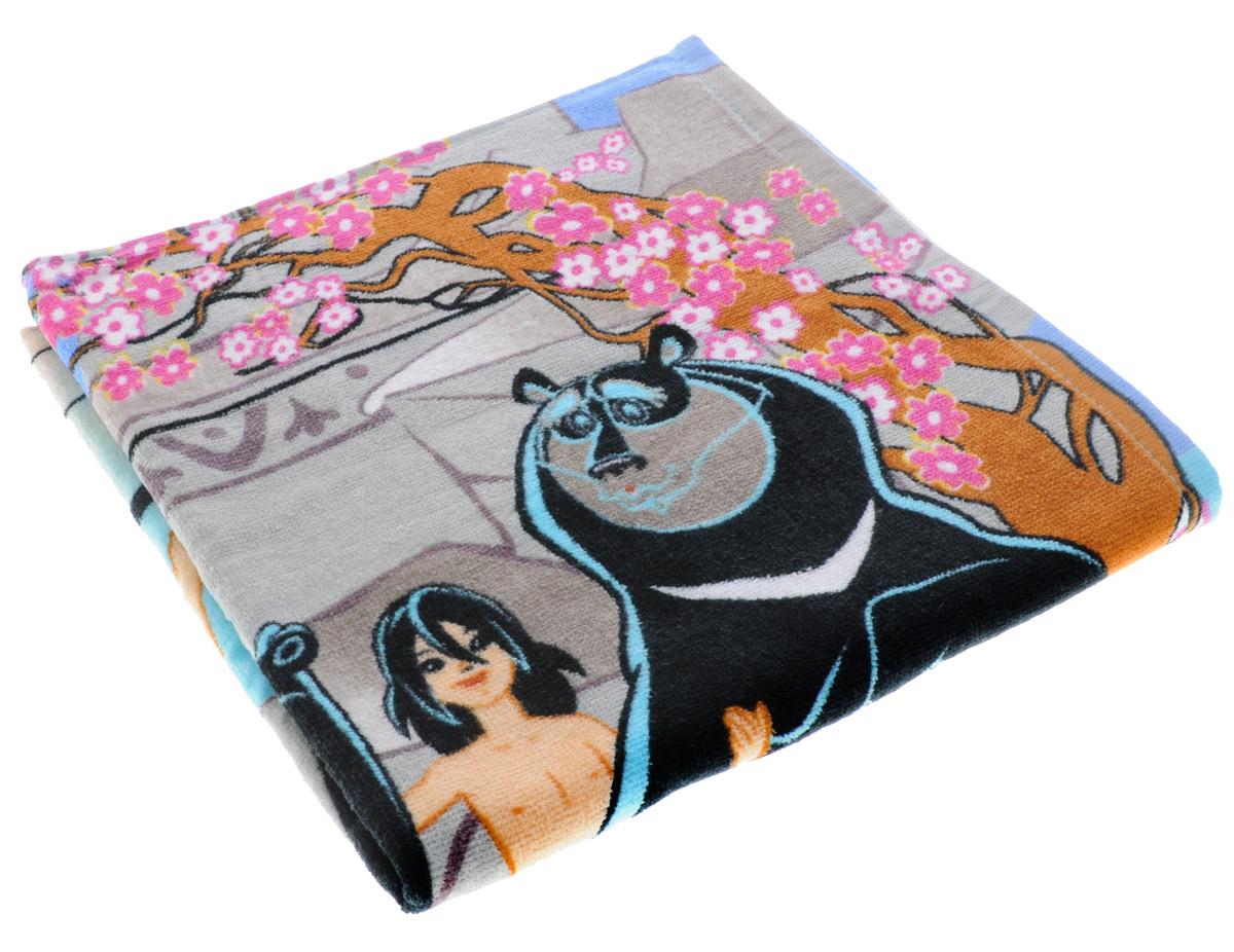 Мульткарнавал Полотенце махровое Маугли 60 x 120 см