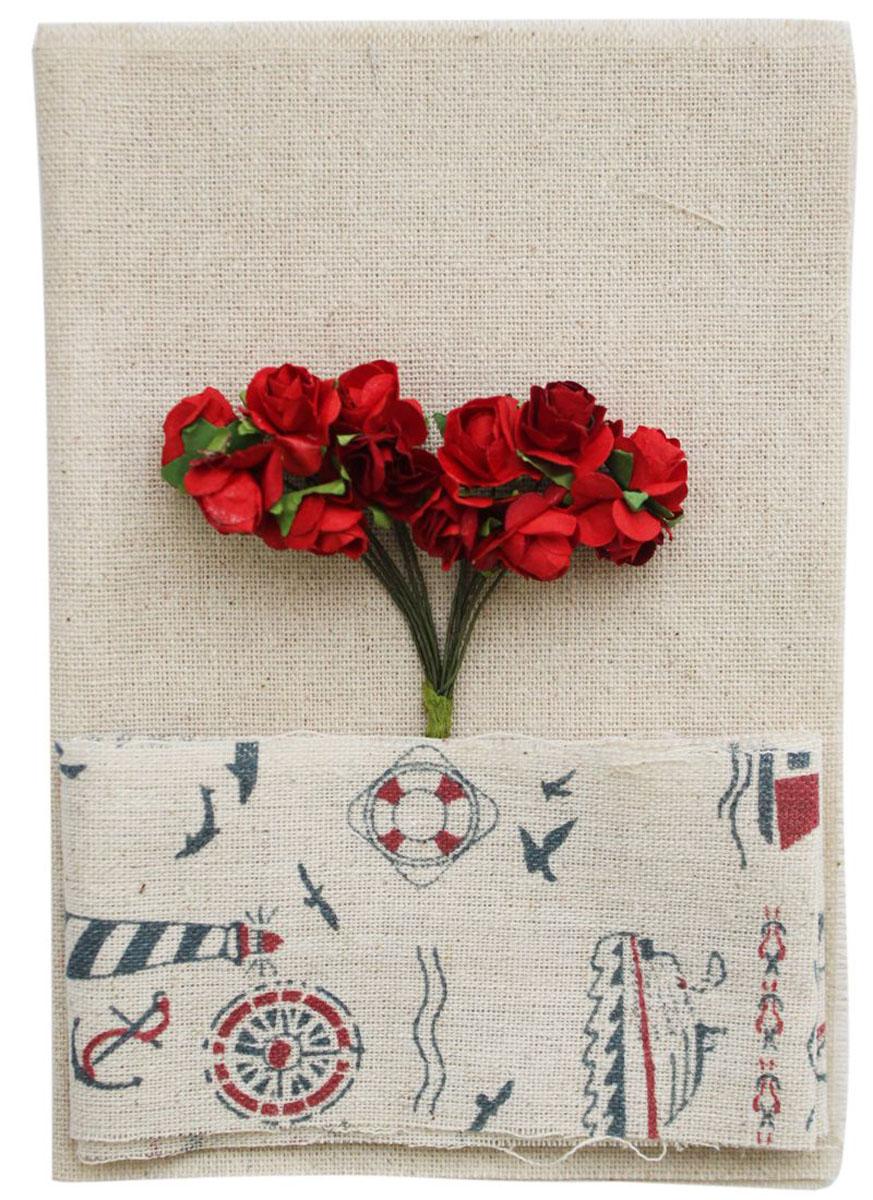 Набор для творчества Василиса. 24176582783Набор для творчества с использованием красивых и миниатюрных декоративных элементов порадует любого. Льняная ткань придает изделию изысканный винтажный вид. В состав набора входит: декоративная ткань, искусственные цветы.
