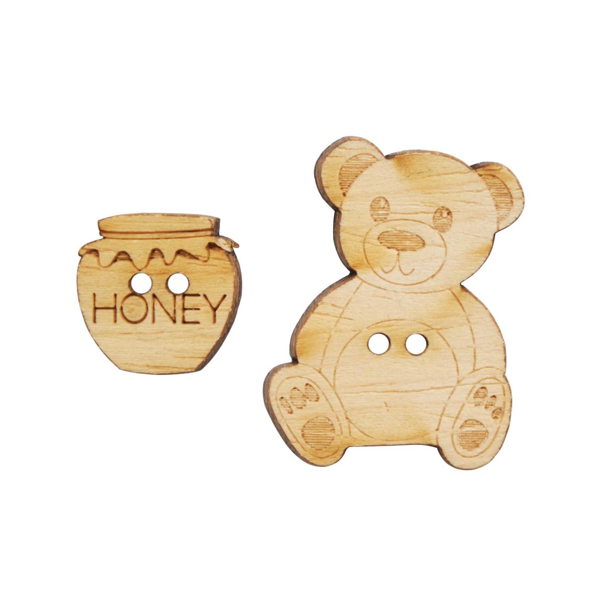 Пуговицы декоративные Magic Buttons Мишки, 6 шт7711144Пуговицы бренда Magic Buttons восхищают разнообразием стилей. Они станут отличным дополнением в качестве завершающего штриха на одежде, кроме того их можно использовать в скрапбукинге, создавать с помощью них интересные открытки, подарочные конверты и многое, многое другое.