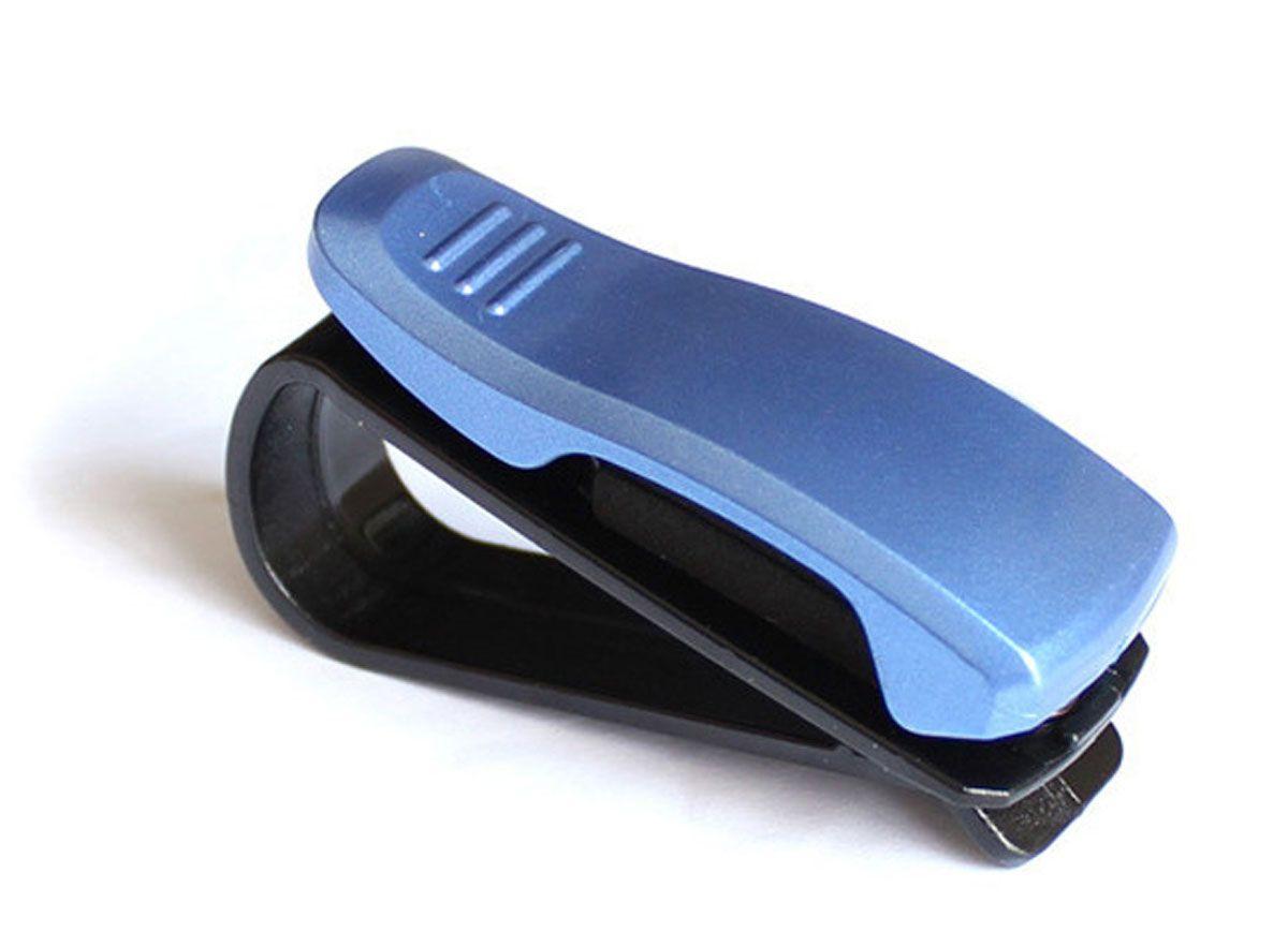 Держатель очков автомобильный Оранжевый Слоник, цвет: синийACL0001BLДержатель для очков автомобильный. Крепится на козырек или зеркало заднего вида. Позволяет удобно хранить очки, ручки, карточки и прочее. Экономит место.