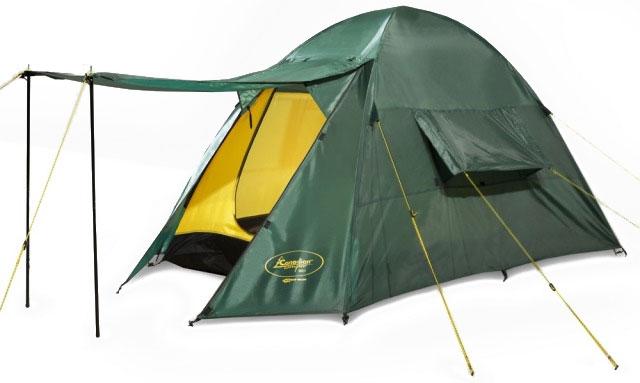 Палатка CANADIAN CAMPER ORIX 2 (цвет woodland)30200018Очень легкая двухместная палатка для треккинга Canadian Camper Orix 2 демонстрирует прекрасные качества в непогоду: хорошо выдерживает ветер и дождь. Единственный минус, который отметил пользователь, это отсутствие снегозащитной юбки. Однако, данная модель и не предназначена для высотных восхождений или зимних походов. Сложенная — компактна, собирается и разбирается легко. Навес предоставляет дополнительное пространство для снаряжения, и закрывает вход от дождя. Швы проклеены и не текут даже в ливень. Множество мелочей, которые так способствуют комфорту хорошо продуманы: кармашки, крепления, молнии. Материал, из которого сшита внутренняя палатка, пропускает воздух, внутри не душно, при этом тепло сохраняет довольно хорошо.