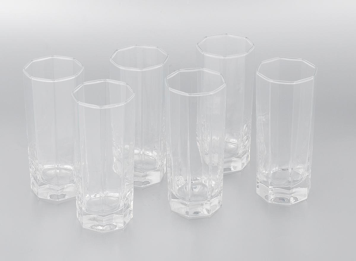 Набор стаканов Pasabahce Kosem, 260 мл, 6 шт42078/Набор Luminarc Kosem состоит из шести стаканов, выполненных из высококачественного стекла и оформленных рельефными гранями. Стаканы выдерживает нагрев до 70°С. Изделия предназначены для подачи воды и других безалкогольных напитков. Они отличаются особой легкостью и прочностью, излучают приятный блеск и издают мелодичный хрустальный звон. Стаканы станут идеальным украшением праздничного стола и отличным подарком к любому празднику. Можно использовать в морозильной камере и микроволновой печи. Можно мыть в посудомоечной машине. Диаметр стакана (по верхнему краю): 6 см. Высота: 14 см.