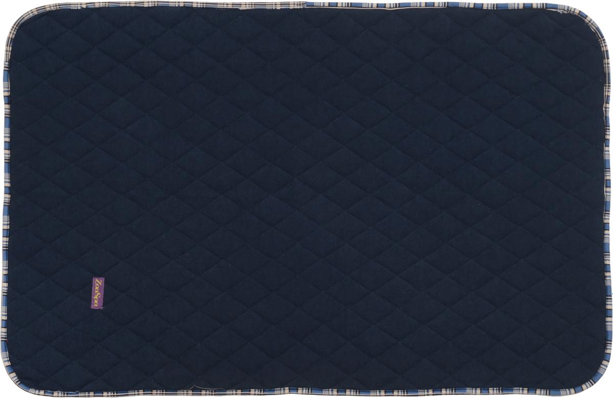 Пеленка впитывающая для животных ZooSpa, многоразовая, 5-ти слойная, цвет: темно-синий, 40 x 60 смZS-150001_темно-синийПеленка ZooSpa используется как комфортная впитывающая подстилка в туалетных лотках, в переносках, в автомобиле. Быстро поглощает жидкость в значительных объемах. Изделие выполнено из ткани ABSO (многослойная абсорбирующая ткань с полиуретановой мембраной, 100% полиэстер). Пеленка состоит из пяти слоев, которые обеспечивают абсолютную защиту от протекания, быстро высыхает и не скользит, лапки вашего питомца всегда сухие, отсутствуют неприятные запахи. Многоразовую пеленку можно стирать минимум 300 раз без потери функциональных свойств. Такая пеленка не загрязняют окружающую среду и экономят ваши деньги. Не содержит наполнителей, не выделяет опасных химических веществ, очень прочная ткань, которую сложно прогрызть или разорвать.