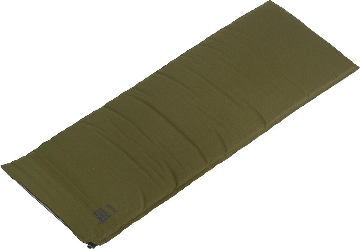 Коврик самонадувающийся Tengu MK 3.23M, цвет: оливковый, 183 х 66 х 5 см7323.5071Коврик самонадувающийся Tengu Mark 3.23M с монолитным наполнителем и толщиной в 5 см хорошо приспособлен для теплоизоляции от холодной земли. Благодаря солидной толщине ваш сон не побеспокоят неровности рельефа под дном палатки. Коврик выполнен из полиэстера и полиуретана. Изделие самонадувающееся, что обеспечивает удобство эксплуатации. В комплекте чехол и ремонтный комплект.