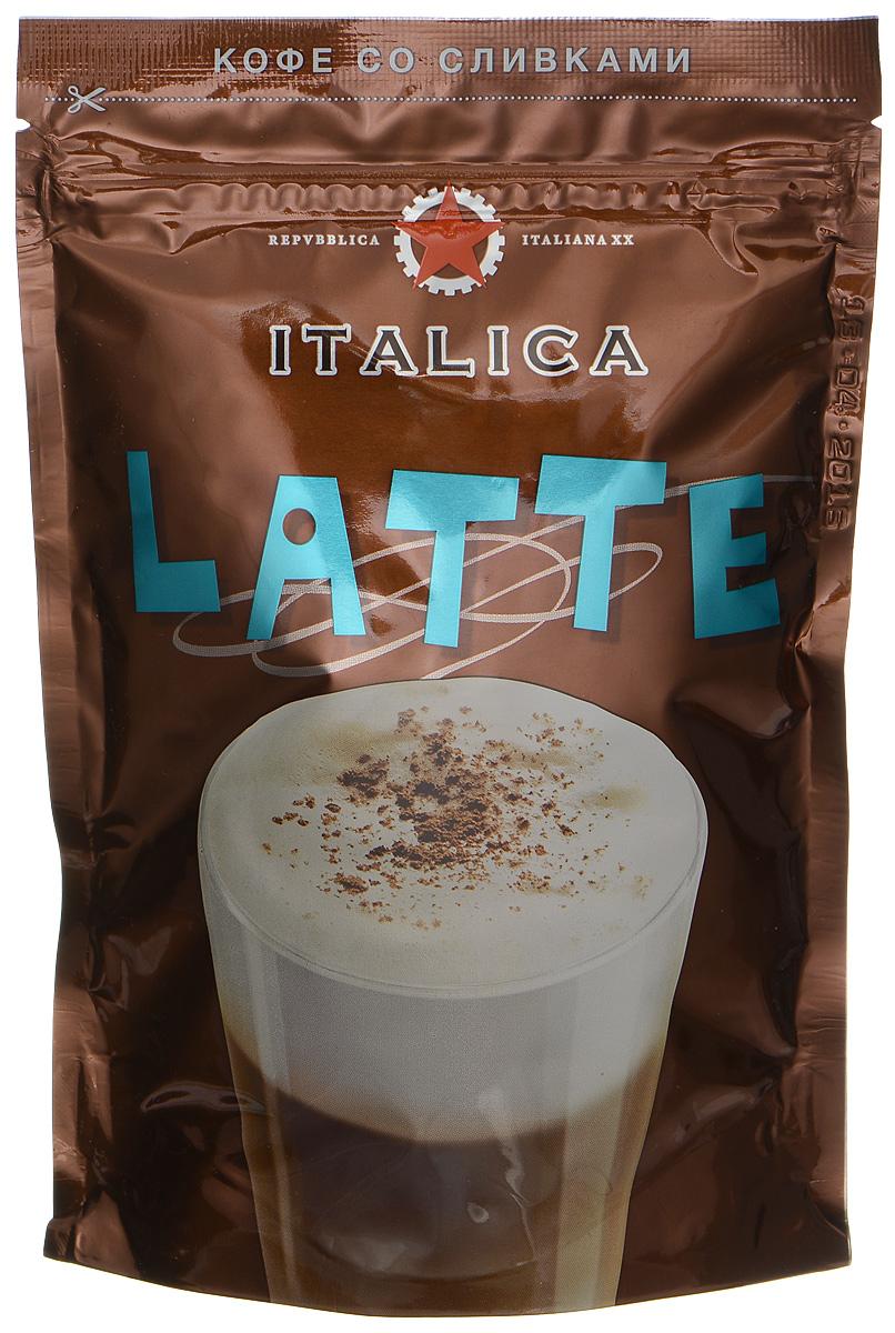 Italica Latte - это купаж кофейных зерен из Кении и Никарагуа, имеющих естественную сливочную мягкость вкуса и обжаренных по традиционному итальянскому рецепту. Напиток содержит высококачественные сухие сливки, позволяющие быстро приготовить превосходный итальянский кофе-латте - нежный, с густой ароматной пенкой.