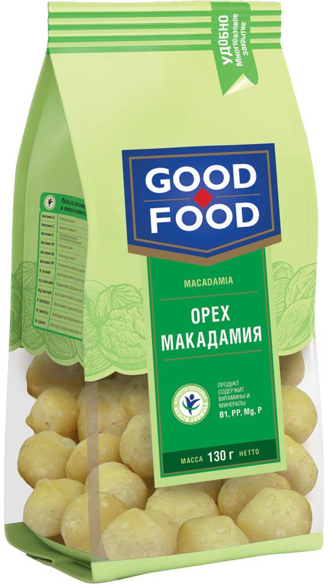 Good Food орех макадамия, 130 г