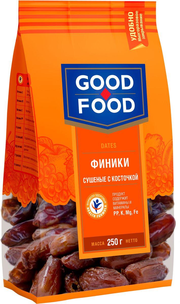 Good Food финики сушеные с косточкой, 250 г