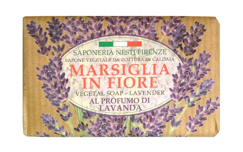 Nesti Dante Мыло Lavender & Juniper Лаванда 125 г1080125Nesti Dante Marsiglia in Fiore Мыло Лаванда с экстрактом лаванды тонизирует и успокаивает кожу, дарит ей ощущение приятной свежести и чистоты.