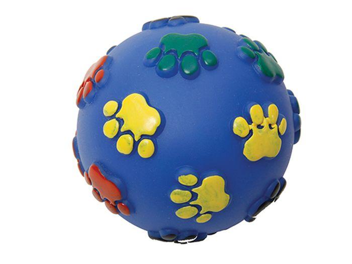Игрушка для животных Каскад Мяч. Лапки, резиновый, 6 см27754624Мяч Лапки резиновый 6см