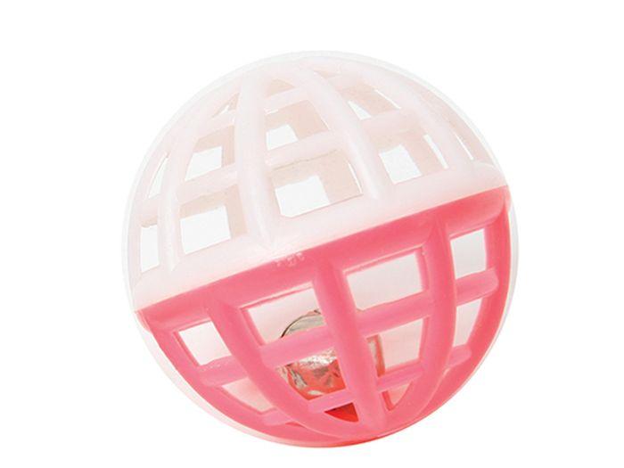 Игрушка для животных Каскад Мяч, сетчатый, с колокольчиком, пластик, 4 см27754641Мяч сетчатый с колокольчиком пластик 4 см