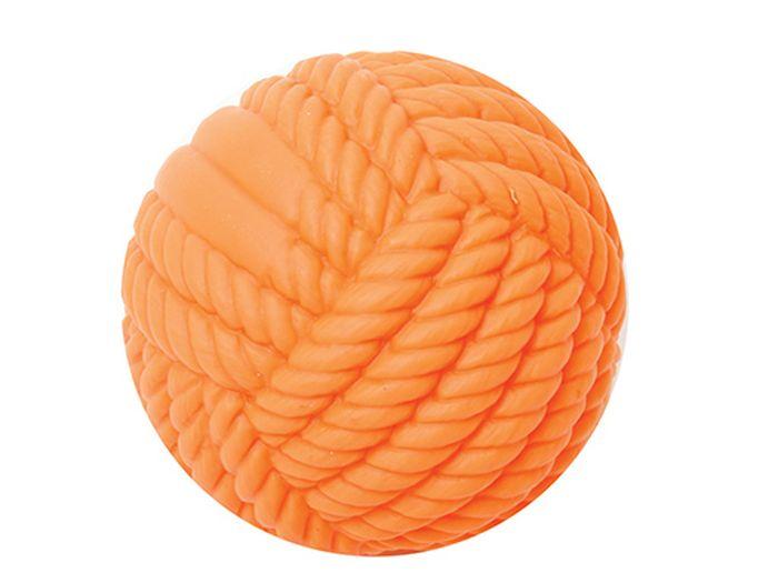 Игрушка для животных Каскад Мячик - клубок, резиновый, 8 см27799274Мячик клубок резиновый 8см