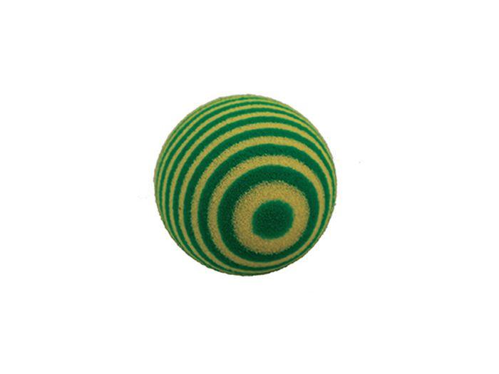 Игрушка для животных Каскад Мячик пробковый, 3,5 см, цвет: зеленый27799322Мячик пробковый 3,5см зеленый
