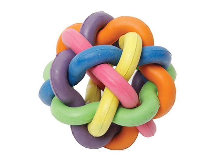 Игрушка для животных Каскад Молекула, с бубенчиком, диаметр 6 см27799326Игрушка для животных Каскад Молекула изготовлена из высококачественной резины. Такая игрушка привлечет внимание вашего питомца, а вам доставит массу приятных эмоций, ведь наблюдать за игрой всегда интересно и приятно. Диаметр игрушки: 6 см.