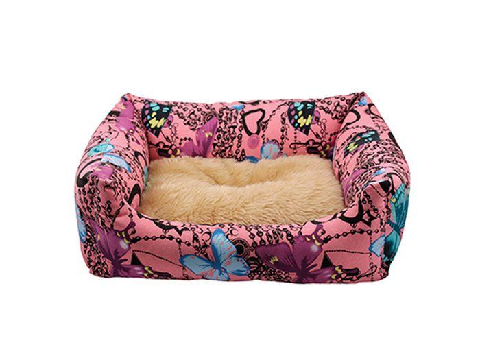 Лежак для животных Каскад Флоренция. №2, цвет: розовый, 54 х 43 х 11 см92000071Уютный лежак для животных Каскад Флоренция. №2 обязательно понравится вашему питомцу. В нем питомец будет счастлив, так как лежак очень мягкий и приятный. Он будет проводить все свое свободное время в нем, отдыхать, наслаждаясь удобством. Лежак выполнен из мягкой качественной ткани с ярким дизайном. Подстилка у изделия двухсторонняя. Мягкий лежак станет излюбленным местом вашего питомца, подарит ему спокойный и комфортный сон, а также убережет вашу мебель от многочисленной шерсти. Размер лежака: 54 х 43 х 11 см.